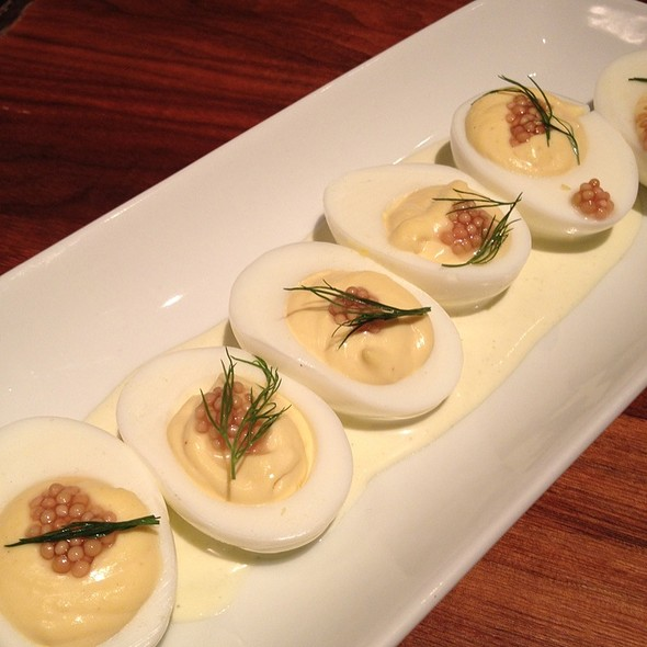 Deviled Eggs @ Square Peg