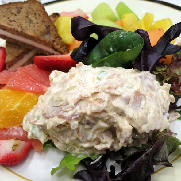 Chicken Salad & Fresh Fruit