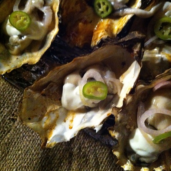 Smoked Pickering Passage Oysters @ The Lawrence