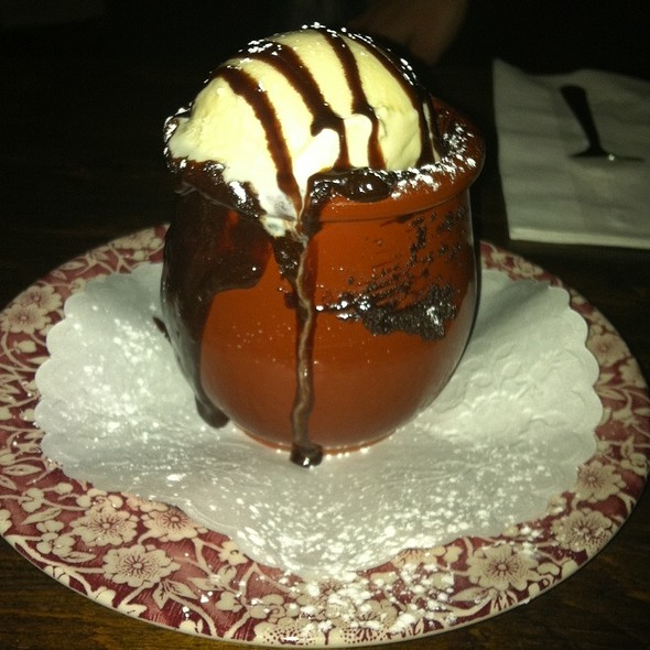 Chocolate Souffle @ Mundo Cafe and Restaurant