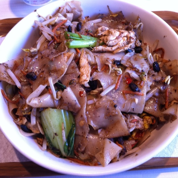 Rice Noodle And Black Bean @ Sweet Lulu