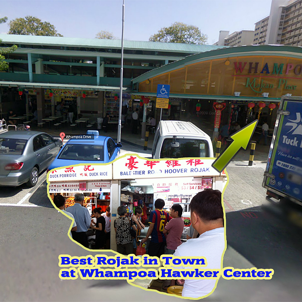 Rojak @ Whampoa Food Market