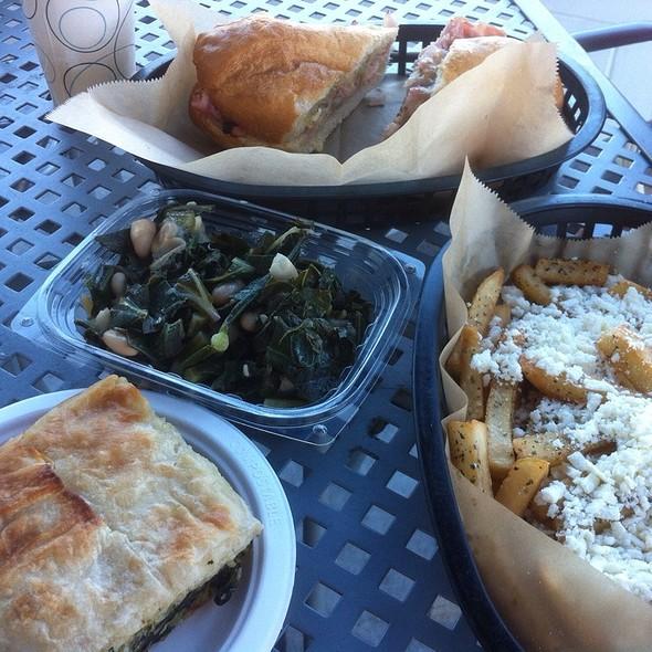 Greek Cheese Fries @ Mediterranean Blue
