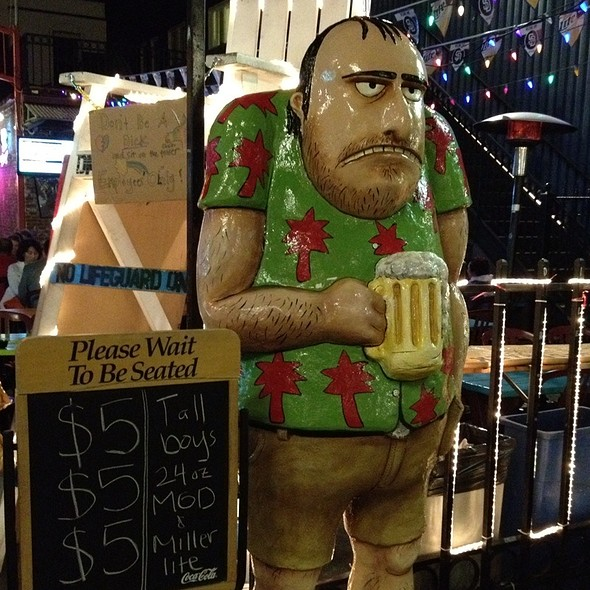 Dick's Bib - Dick's Last Resort - San Diego -  Permanently Closed, San Diego, CA