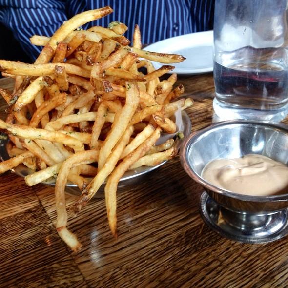 Garlic Fries @ Ruxbin Kitchen