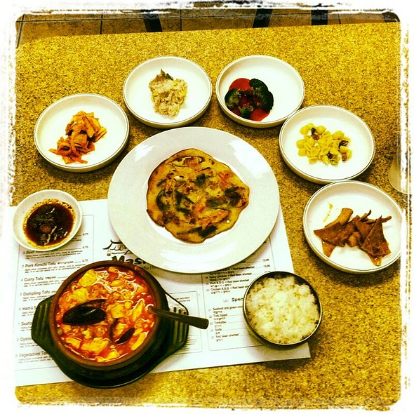 Combination Sundubu @ Mashisoyo Tofu House