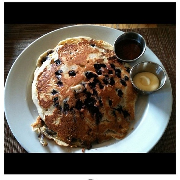 Blueberry Pancakes @ Yard House Coral Gables