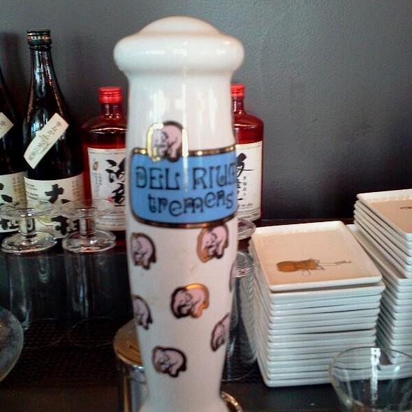 Delirium Tremens Belgium Strong Pale Ale @ Tomo Japanese Restaurant