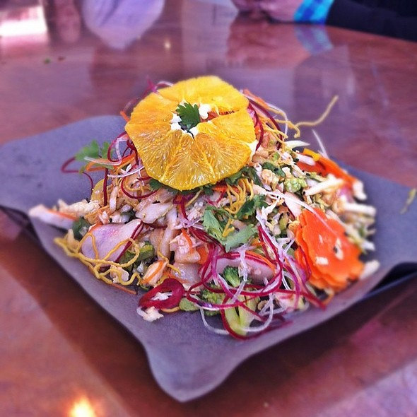 chinese chicken salad - yummy (the owner of this place is david adjey from food network) @ The Chickery