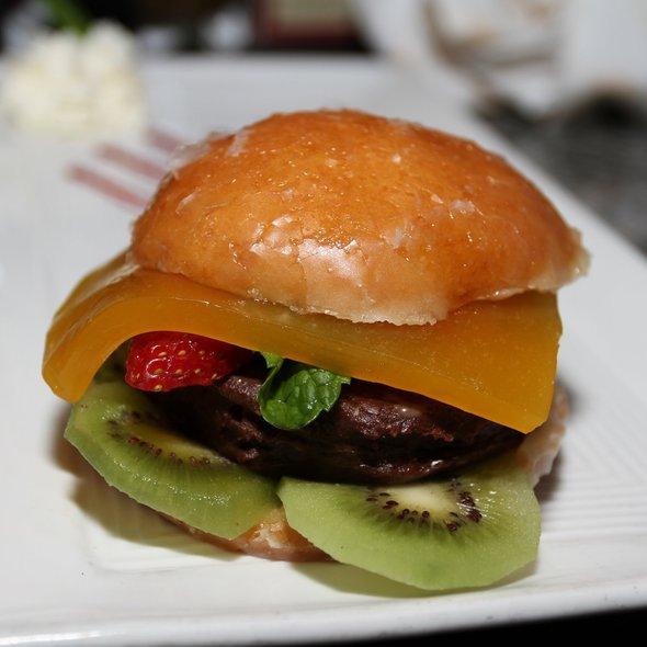 Chocolate Burger @ Burger Bar