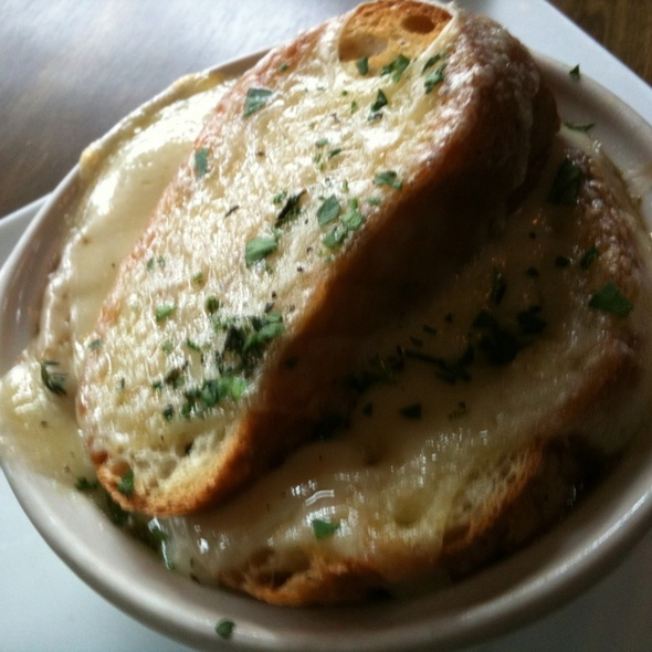 French Onion Soup @ CommonWealth Café and Public House