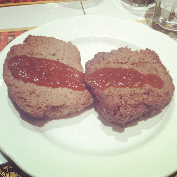 Meatloaf @ 2nd Ave Deli