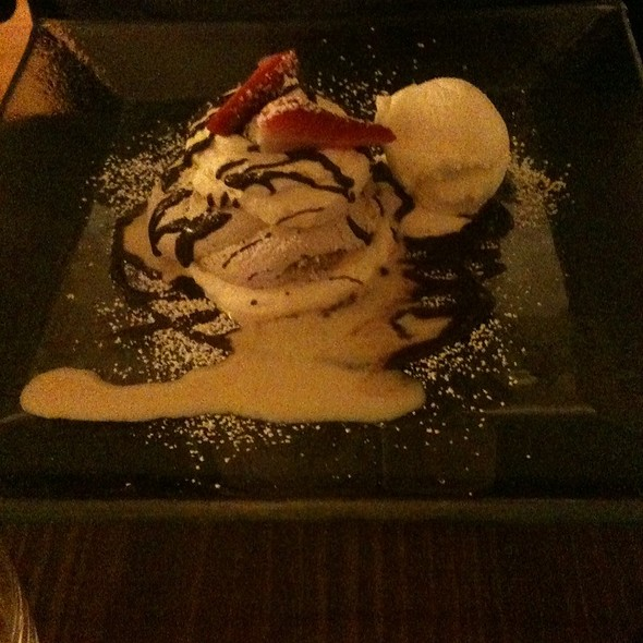 Chocolate Meringue @ Mitchell's Restaurant