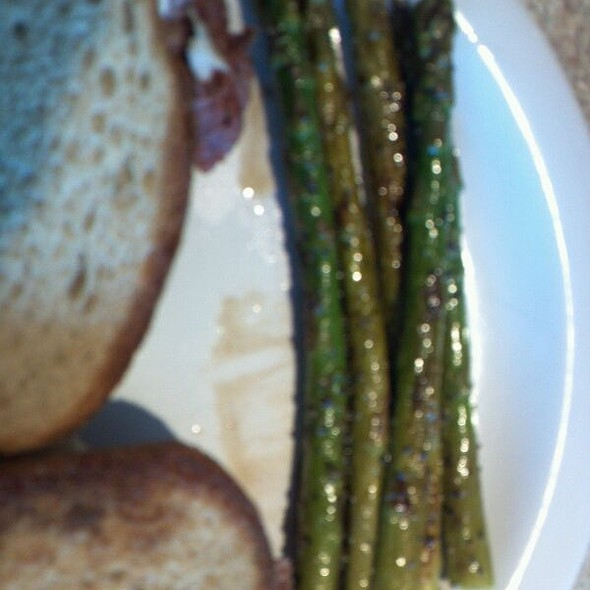 Grilled Asparagus @ River City Deli