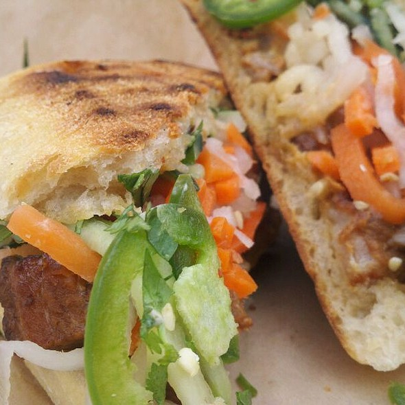 Kurobuta Pork Belly Banh Mi