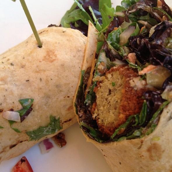 Israeli Falafel Wrap @ Darbster Waterside Bistro