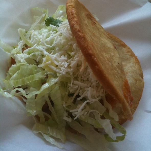 Gorditas De Chicharron @ Super Taqueria