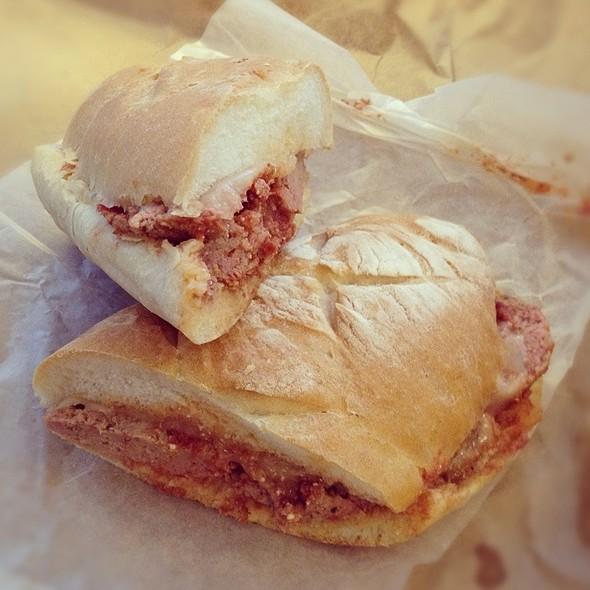 Meatball Sandwitch @ Campanelli