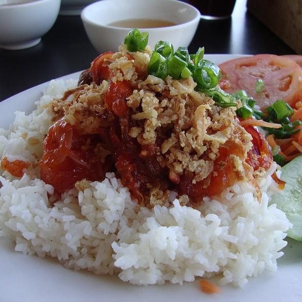 Simmered Shrimp over Rice @ Les Givral's