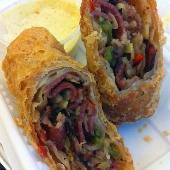Katz's Pastrami Egg Rolls @ FoodParc