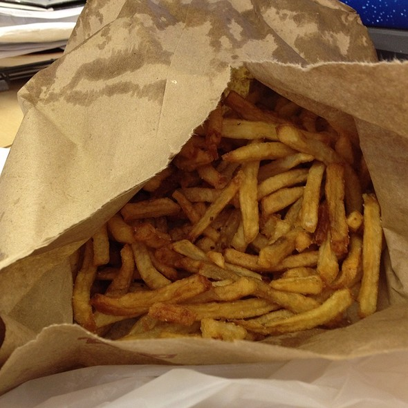 French Fries @ Taim Mobile
