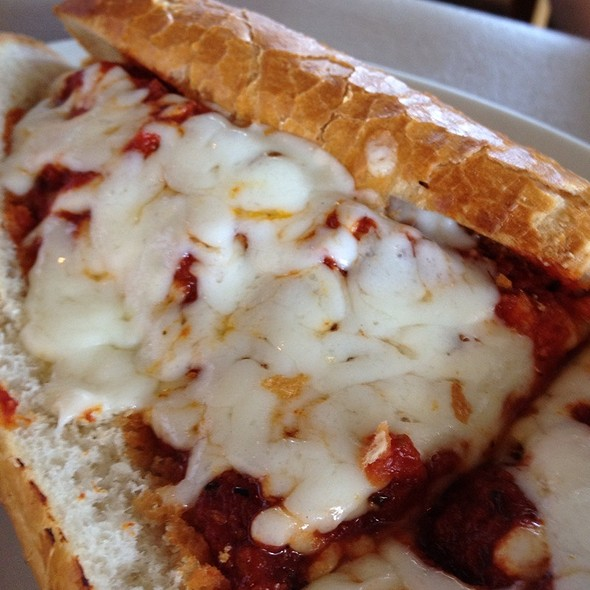Chicken Parm Sub @ Besa's Pizza And Pasta
