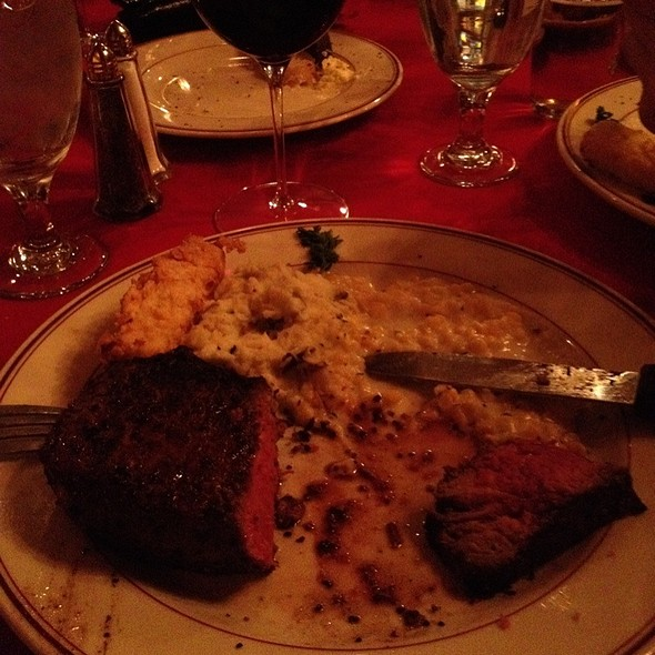 NY Strip - Double Nickel Steak House, Lubbock, TX