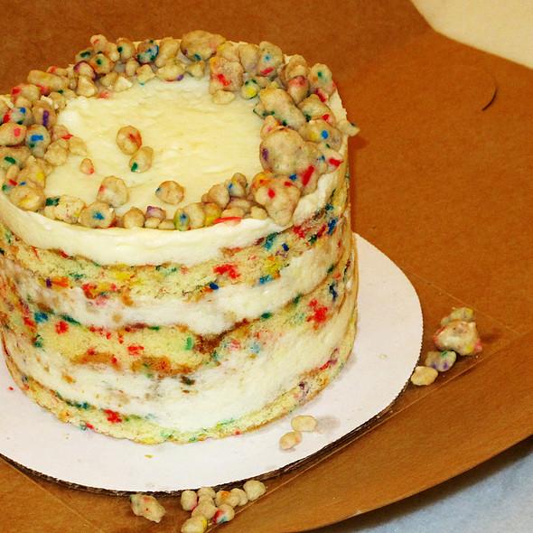 Milk Bar Birthday Cake @ Momofuku Ssam Bar