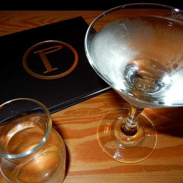Schramm Vodka Martini - Pourhouse Restaurant, Vancouver, BC