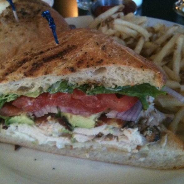 Chicken Avocado Club - Carlyle Grill, Ann Arbor, MI