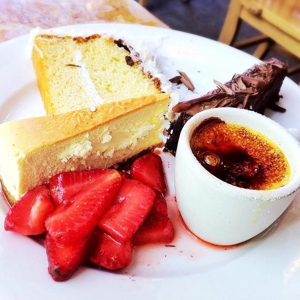 Dessert Sampler Plate - Gale's, Pasadena, CA