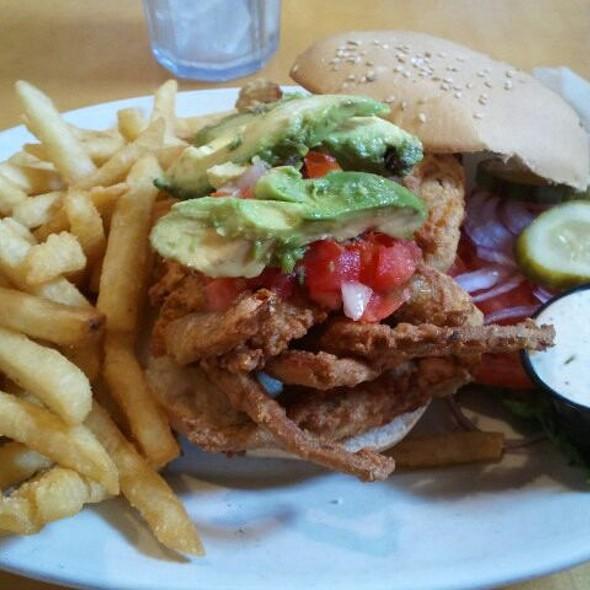 Soft Shell Crab Sandwich @ Kitchen 64