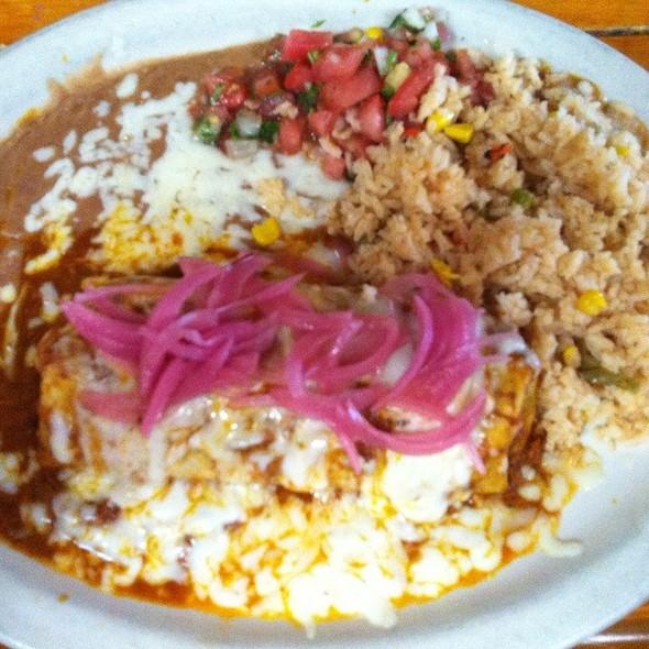 Cochinita Burrito @ Senior Burrito