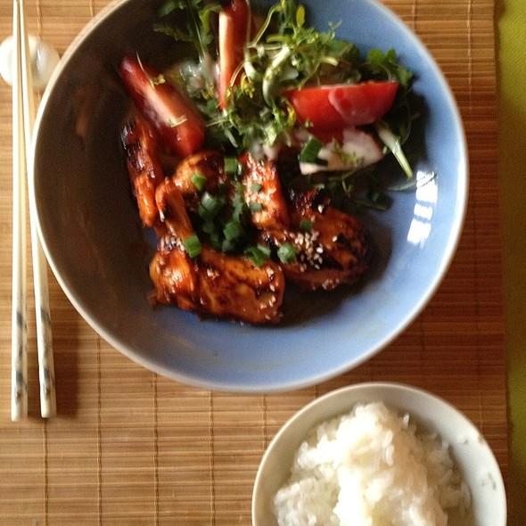 Lemon Gochujang Chicken @ Home