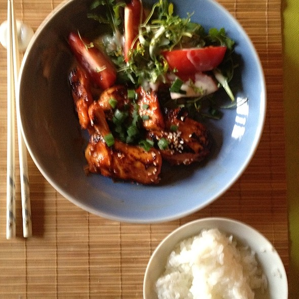 Lemon Gochujang Chicken @ Home