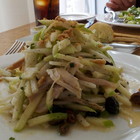 Apple & Rotisserie Chicken Salad @ Province