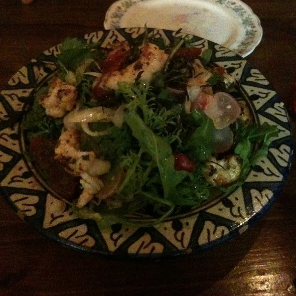 Marinated Aran Langoustine Salad @ Ard Bia At Nimmos