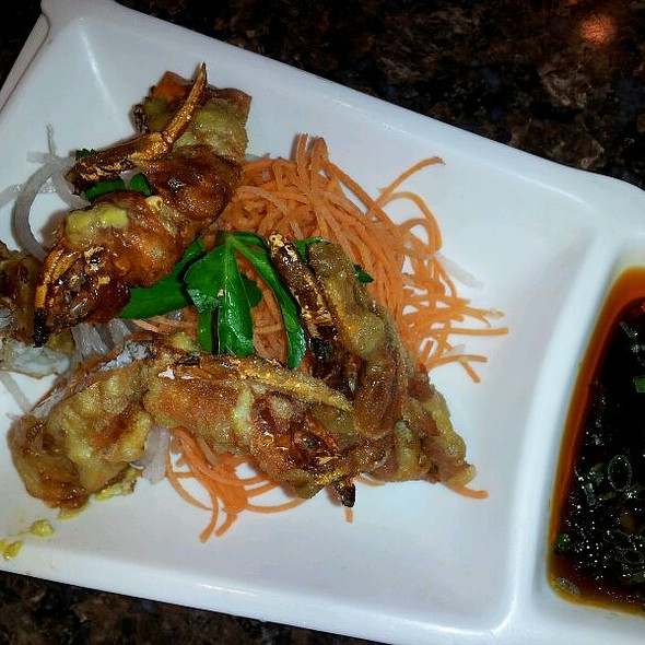 Soft Shell Crab @ Red Ginger Asian Bistro