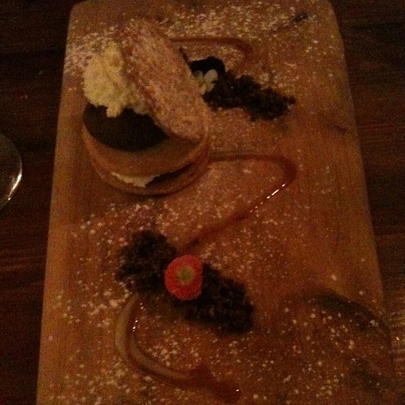Shortbread With Chocolate Mousse @ Ard Bia At Nimmos