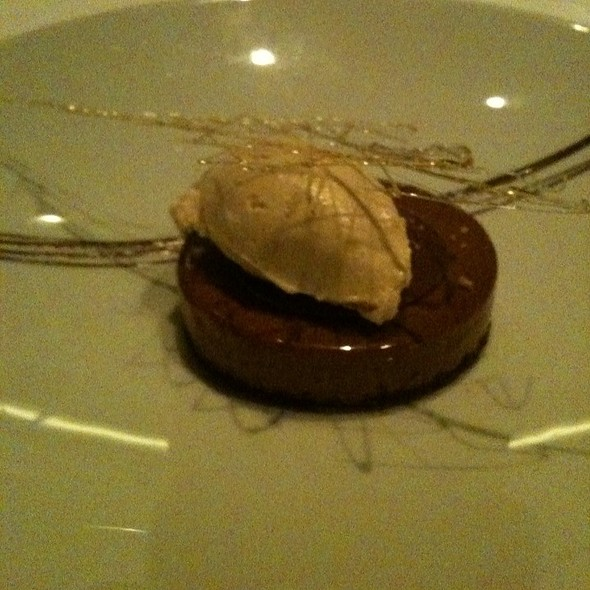 Valrhona Guanaja Chocolate - Scaramouche Restaurant, Toronto, ON