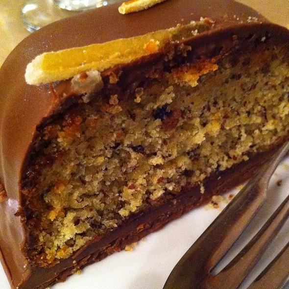 Hazelnut Orange Cake @ L.A. Burdick