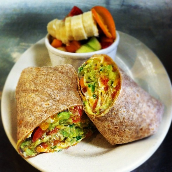 Guac Veggie Wrap @ C & G's Country Cafe