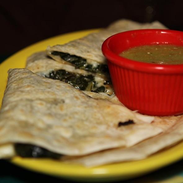 Kale and Bacon Quesadillas - Diablitos Cantina, St. Louis, MO