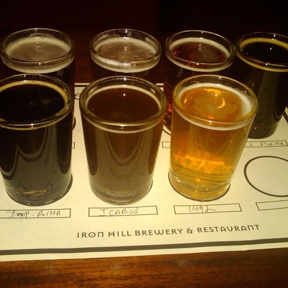 Beer Sampler @ Iron Hill Brewery & Restaurant
