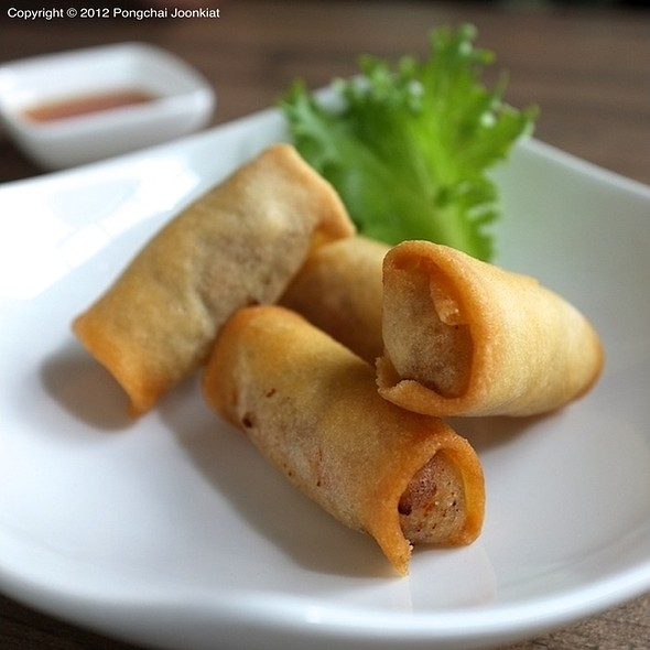 Cellophane Noodle Spring Rolls @ Pasta 9 Nine @ The Nine Neighborhood Center