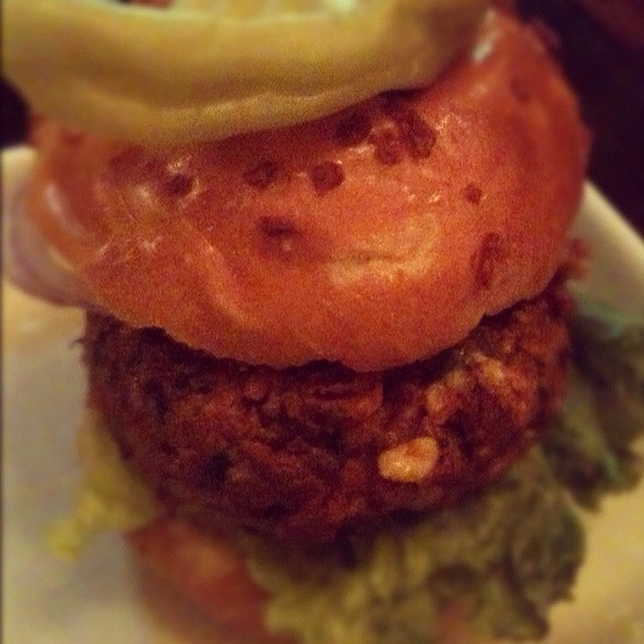 Spicy Burger @ Kouzzina by Cat Cora