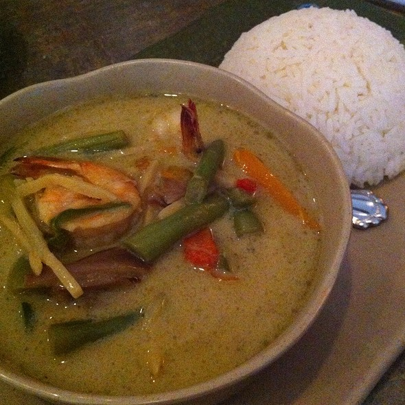 Green Curry @ Soybean Asian Grill