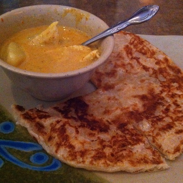 Roti Canai Chicken Curry @ Soybean Asian Grill