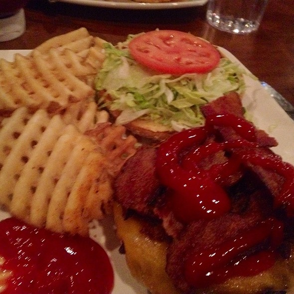 Chipotle BBQ Burger @ Champps Sports Bar & Grill