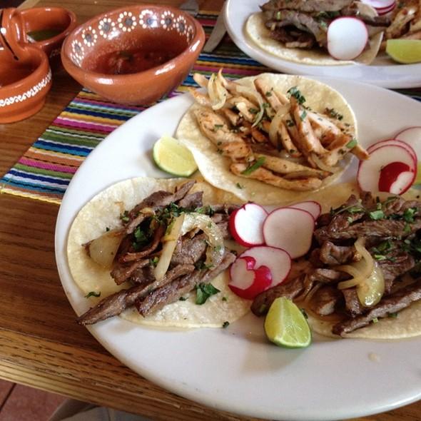 Chicken And Beef Tacos - La Frontera Mexican Grill, Hackensack, NJ